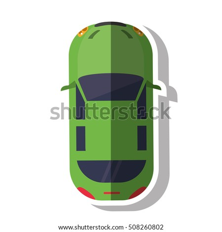 Isolated car vehicle design