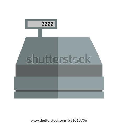 Isolated cash register design