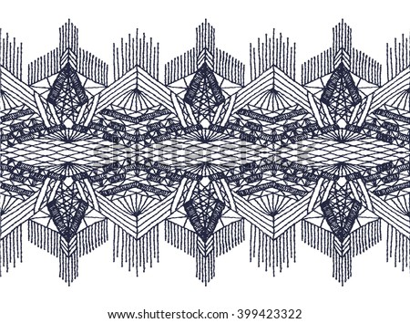 Openwork stockings stock photos royalty free images for Border lace glam