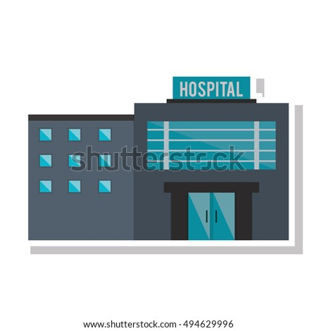 Isolated hospital building design