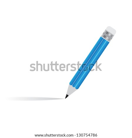 Isolated Pencil - stock vector