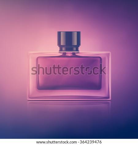 Isolated perfume bottle, eps 10 - stock vector