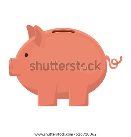 Isolated piggy design