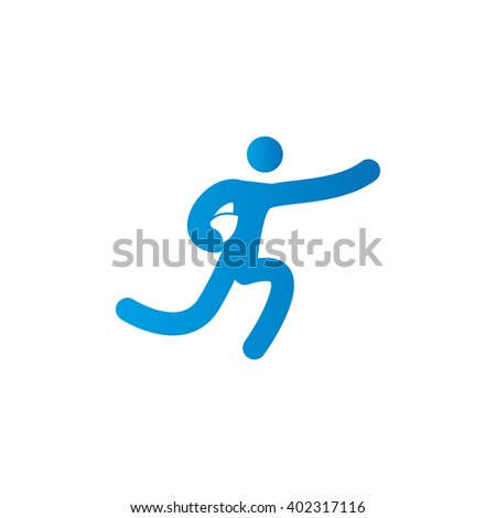 Isolated sport icon on a white background