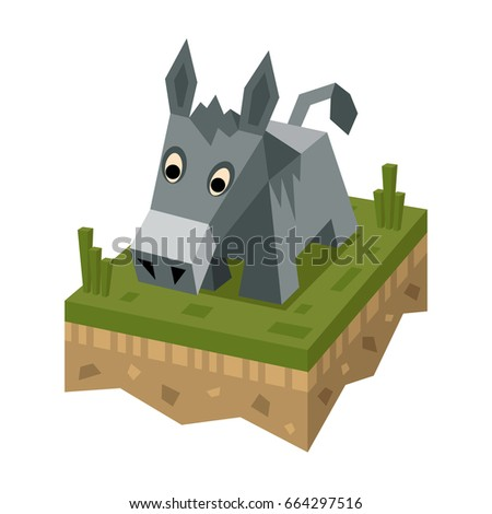 donkey donkey vector stock images royalty free images vectors