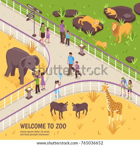 Clipart zoo fence