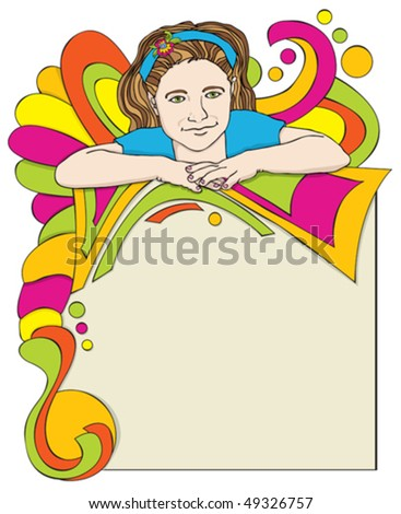 It Is A Party Invitation Poster - stock vector