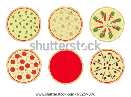 Pizza Toppings Clip Art