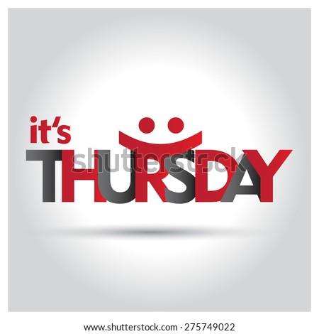 Thursday Stock Photos,...