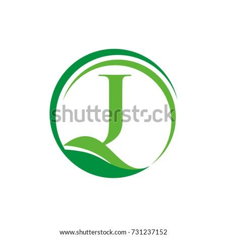 J Vector Flower Font Letter Banque D Images D Images Et D