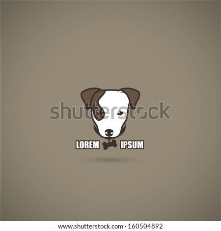 Jack Russell Terrier symbol - vector illustration - stock vector