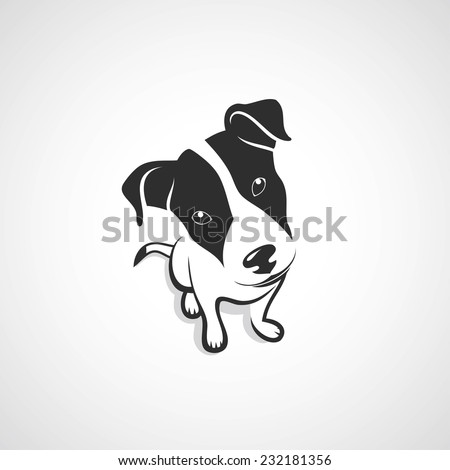 Jack Russell Terrier - vector illustration - stock vector