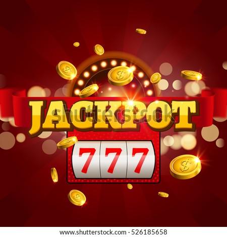 Slot machine logo design