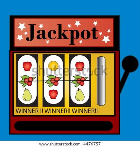 jackpot vector - stock vector