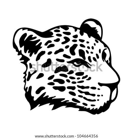 jaguar face illustration - photo #14