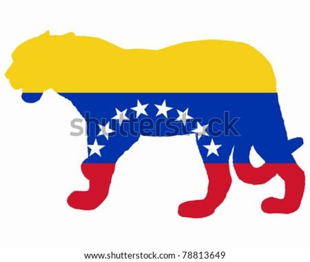 Jaguar Venezuela - stock vector