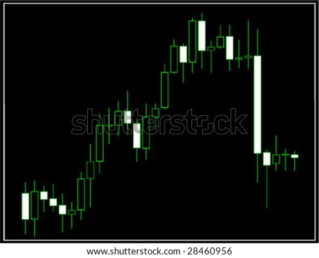 japan candles - stock vector