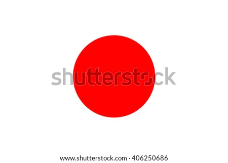 Japan Flag. Vector illustration flag , Symbolic that represent to Japan. For several concept and occasional (National Day,Sport,Currency,Travel,etc.) - stock vector