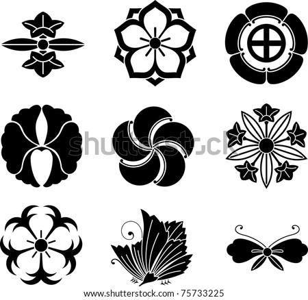 Japanese Family Crest Symbols