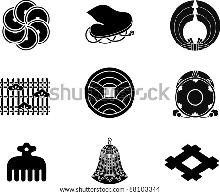 Japanese Family Crests (vector)