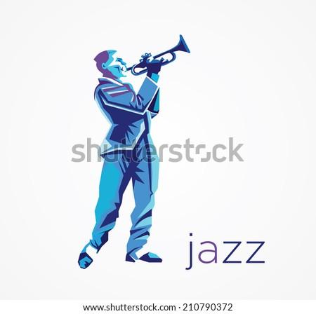jazz  - stock vector