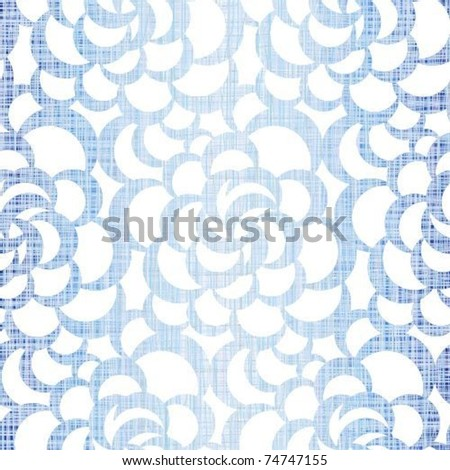 Jeans background a fabric - stock vector