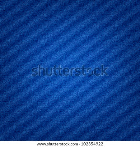 Jeans background like a texture - stock vector
