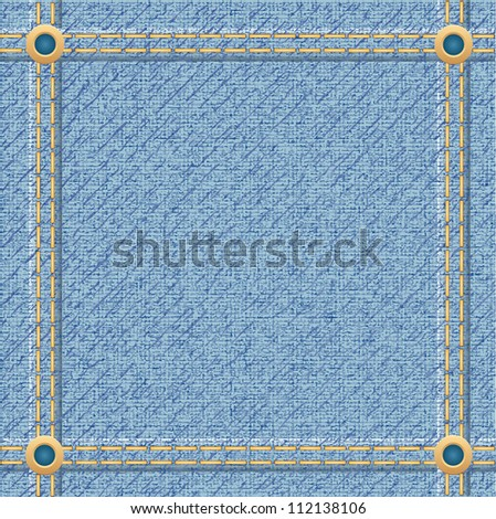 jeans texture for design vector illustration