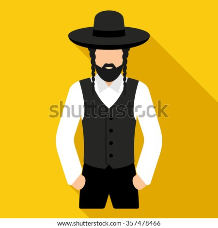 Jew vector character - stock vector