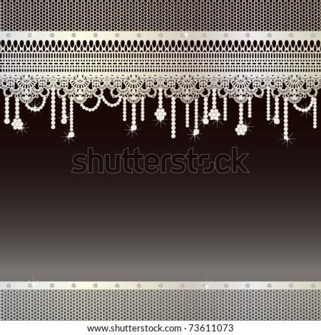 jewelry background - stock vector