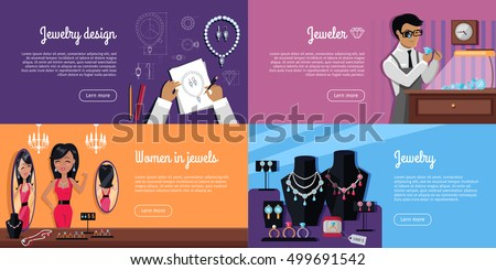 jewelry design jeweler women jewels jewelry stock vector royalty