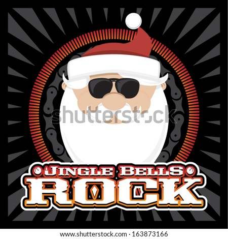 Jingle Bells Rock - stock vector