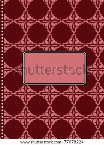 Journal (layered) - stock vector