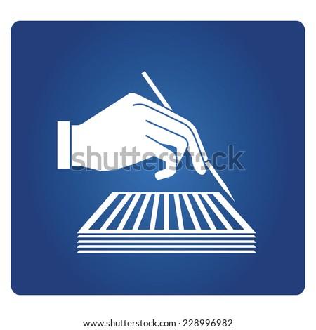 journalism, writing, literature - stock vector