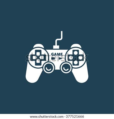 joystick game control - stock vector