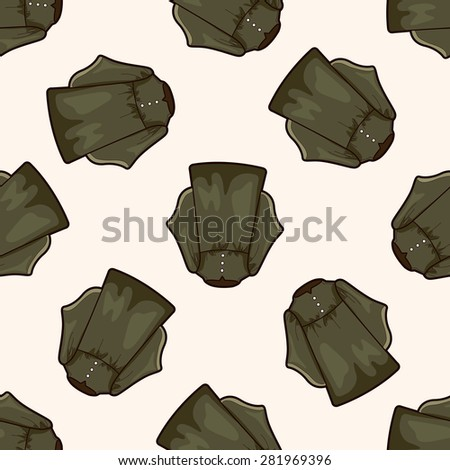 judge gowns , cartoon seamless pattern background - stock vector