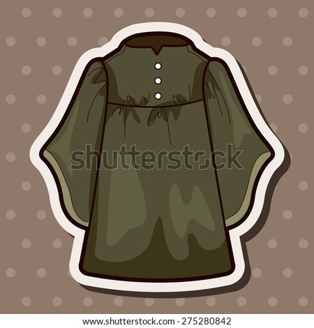 judge gowns theme elements - stock vector