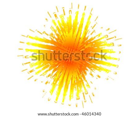 Juice Splash Vector - stock vector