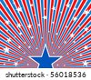 July 4th background. - stock vector