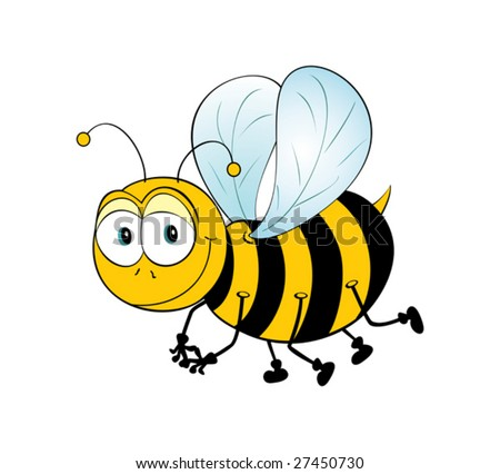 Just Cute Vector Bee