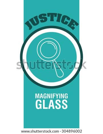Justice digital design, vector illustration 10 eps graphic - stock vector