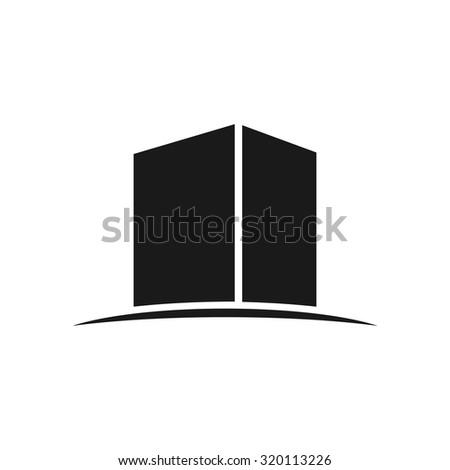 kaaba icon - stock vector