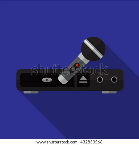 Karaoke Icon, Karaoke Icon Eps10, Karaoke Icon Vector, Karaoke Icon Eps, Karaoke Icon Jpg, Karaoke Icon, Karaoke Icon Flat, Karaoke Icon App, Karaoke Icon Web, Karaoke Icon Art, Karaoke Icon - stock vector