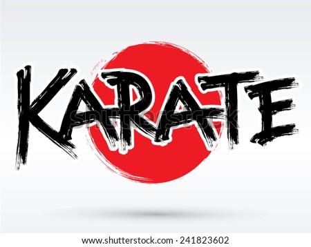 Graphic Design Martial Arts