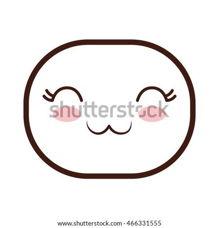 Oval Cartoon