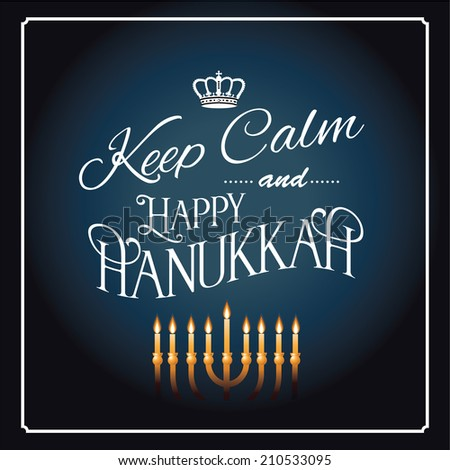 Keep calm happy hanukkah greeting card stock vector hd royalty free keep calm happy hanukkah greeting card stock vector hd royalty free 210533095 shutterstock m4hsunfo
