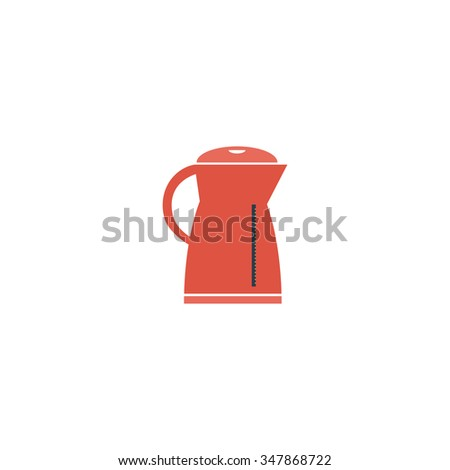 Kettle Color vector icon on white background