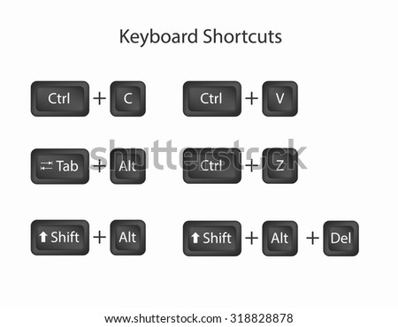how to cut and paste using control key