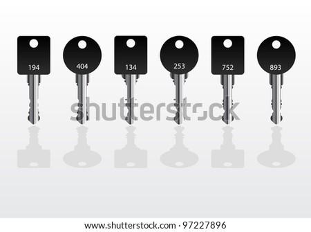 Black House Key