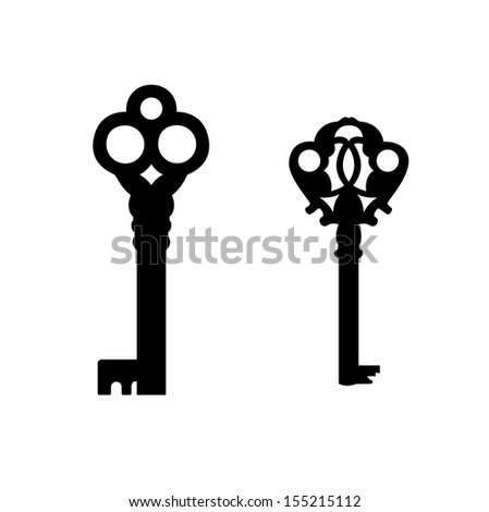 Keys with decorative elements